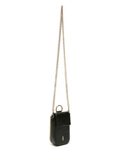 Load image into Gallery viewer, Farrow Phone Crossbody Bag in Black