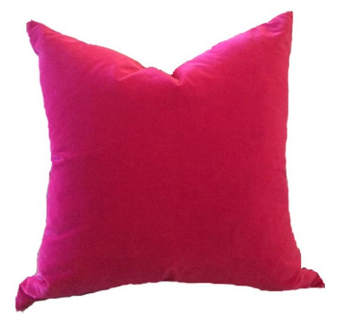 Velvet Knife Edge Pillow