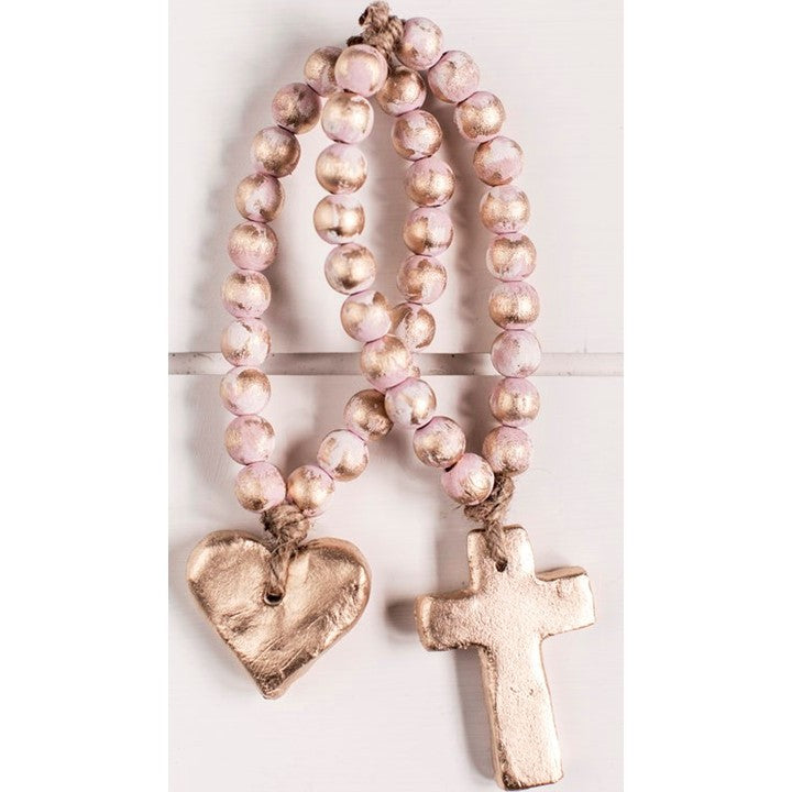 The Sercy Studio Bitty Pink Blessing Beads