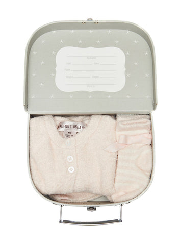 Barefoot Dreams Girls Heirloom Newborn Set