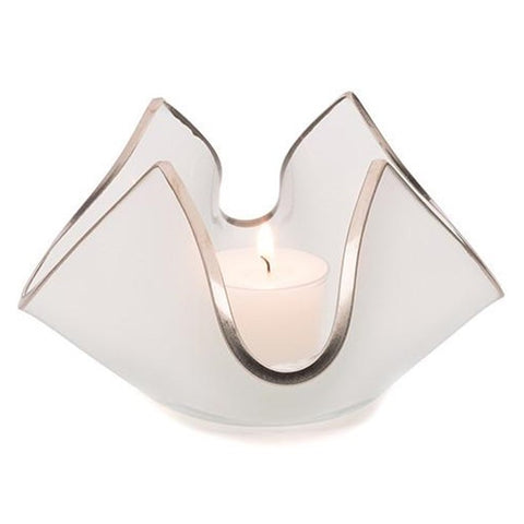Annieglass Handkerchief Votive
