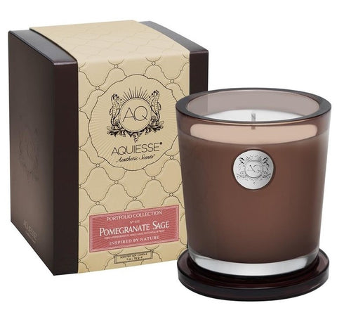Aquiesse Pomegranate Sage Candle