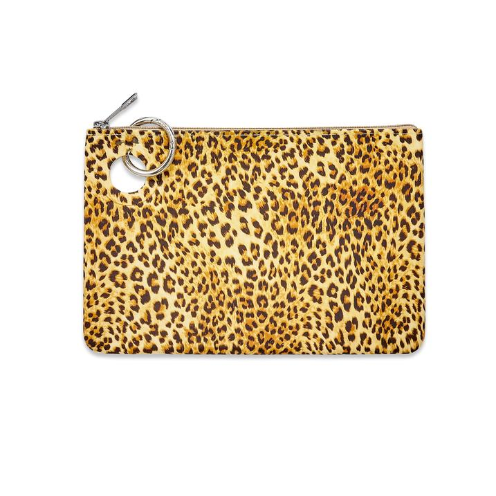 Large Silicone Pouch - Cheetah