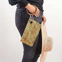 Load image into Gallery viewer, Large Silicone Pouch - Cheetah