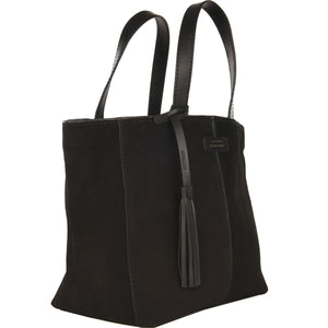 Loxwood Suede Leather Tote Bag