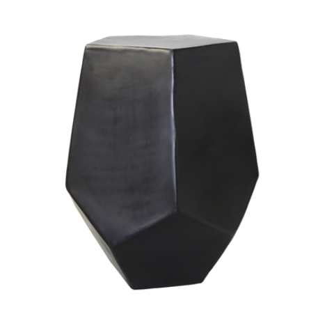 Black Metal Side Table