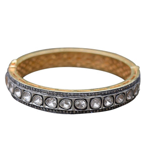 S. Carter Designs Sliced Diamond Bangle