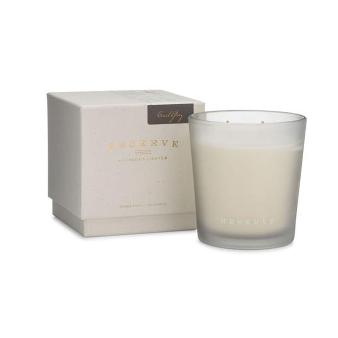 Linnea's Lights Reserve Light Candle, Earl Grey