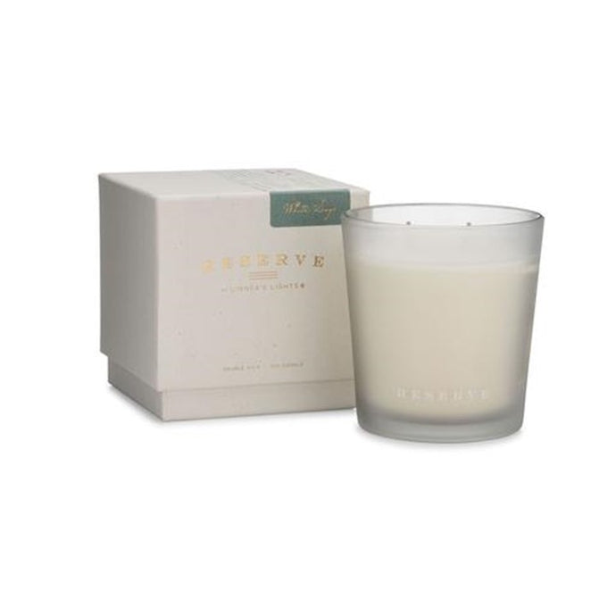 Linnea's Lights Reserve Light Candle, White Sage