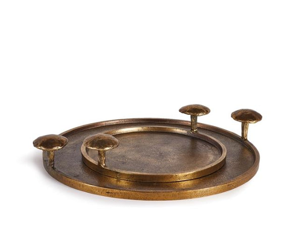 Antique Brass Tray