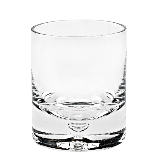 Crystal Rocks Double Old Fashioned Glass