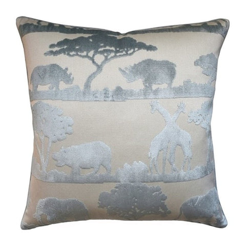 Ryan Studio Safari Giraffe Duck Egg Pillow