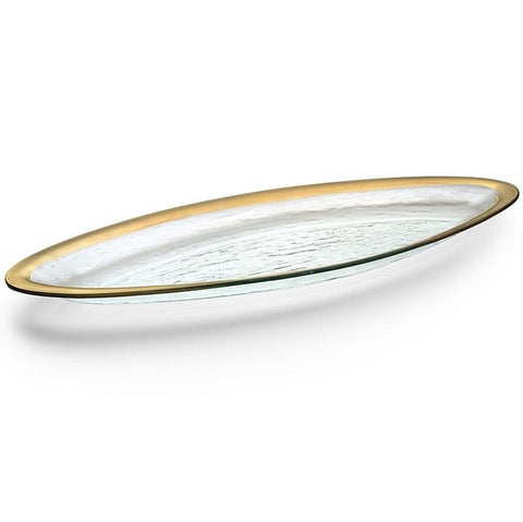 Annieglass Salmon Tray