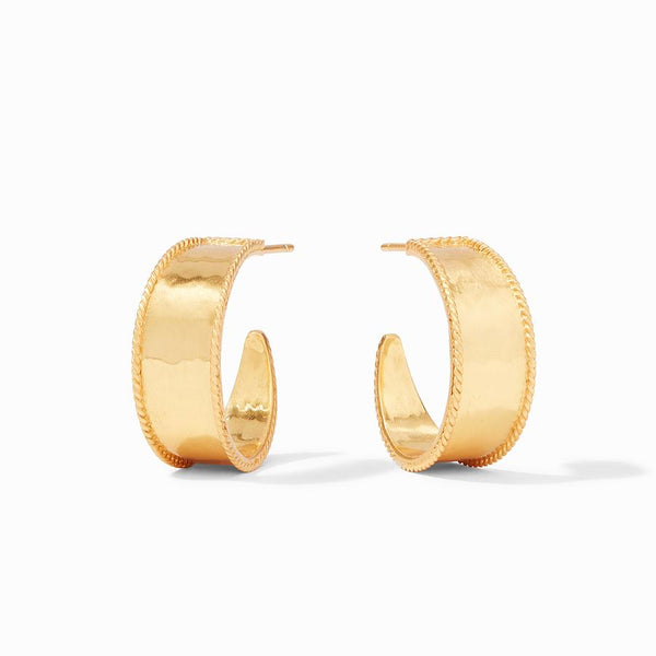 Julie Vos Savoy Hoop Earrings