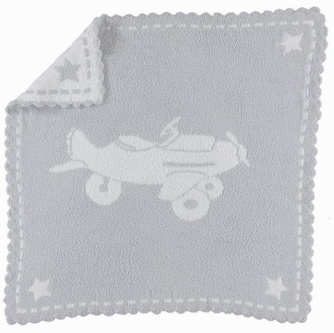 Barefoot Dreams Scalloped Receiving Blanket