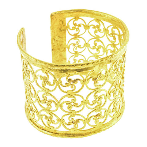 Gypsy Sea Gate Gold Cuff