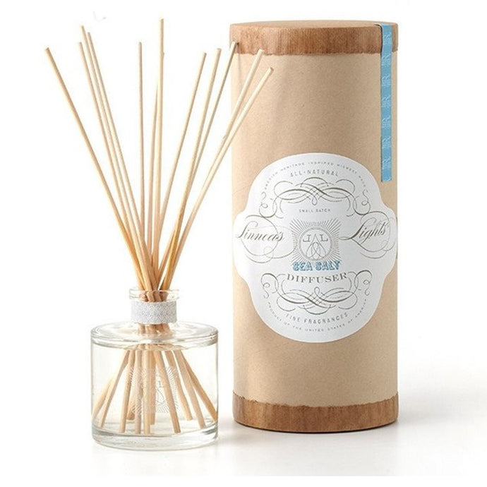 Linnea's Lights Sea Salt Diffuser and Reeds