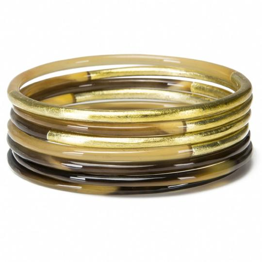 Vivo Set of 7 Buffalo Horn Bangles Set with Lacquer