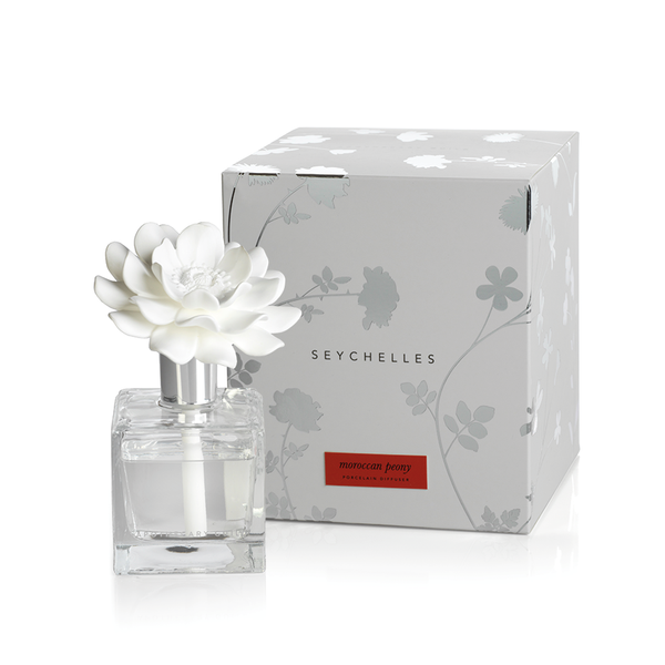 Moroccan Peony Seychelles Porcelain Diffuser