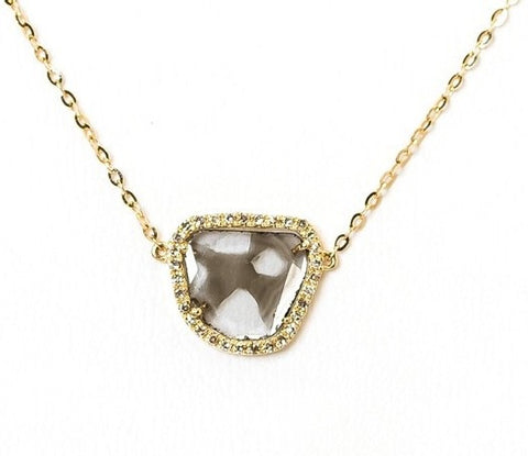 Cindy Ensor Diamond Necklace in Gold
