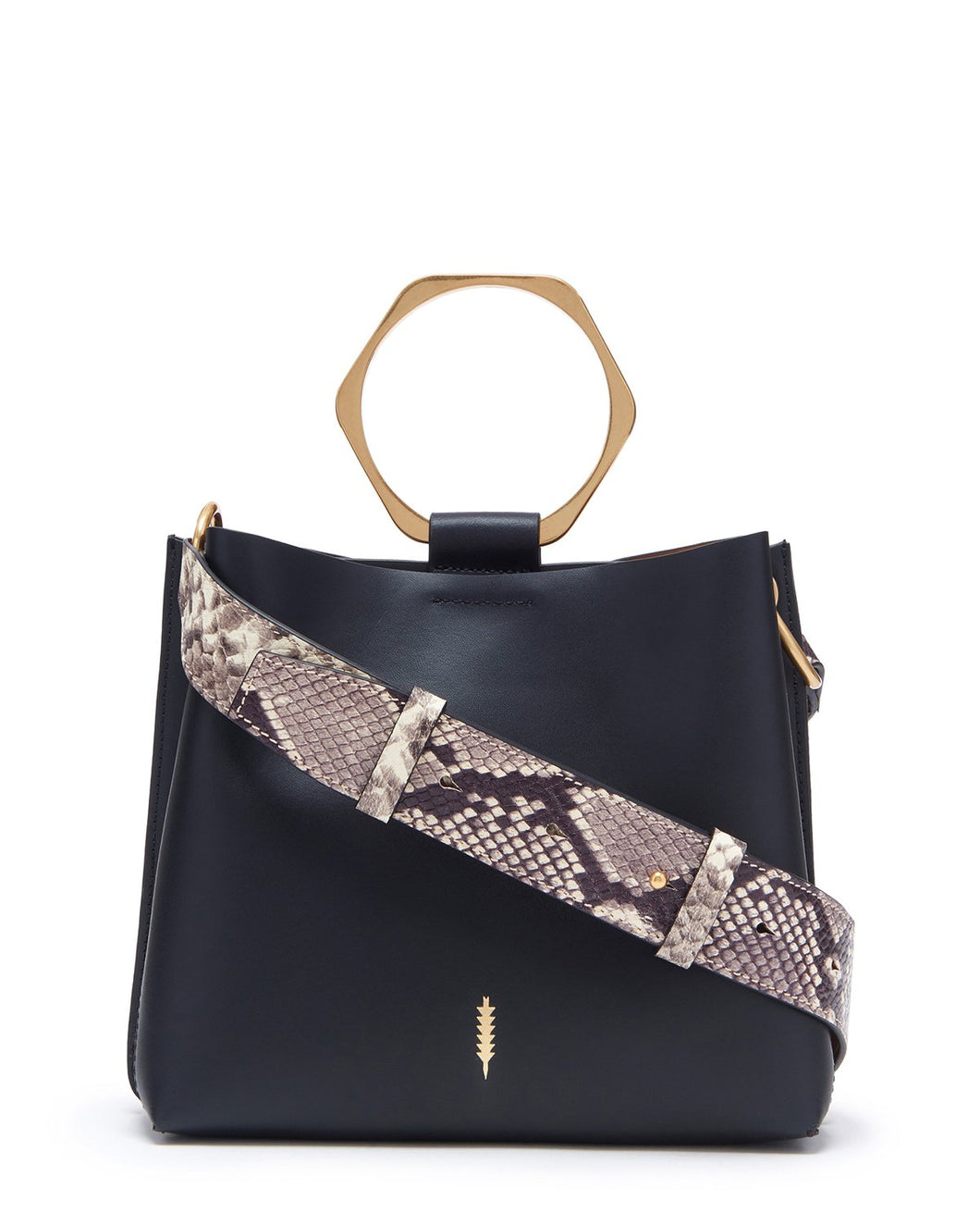 Bardot Small Bucket Bag in Black