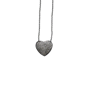 S. Carter Designs Heart Charm Necklace