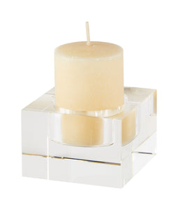 Small Crystal Block Votive
