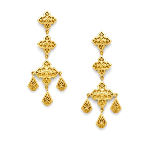 Julie Vos Sofia Chandelier Earrings