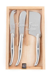 Laguiole Mini Stainless Steel Cheese Set