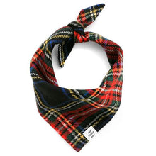 Load image into Gallery viewer, The Foggy Dog Stewart Plaid Wool Bandana