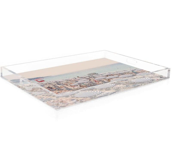 French Riviera Acrylic Tray