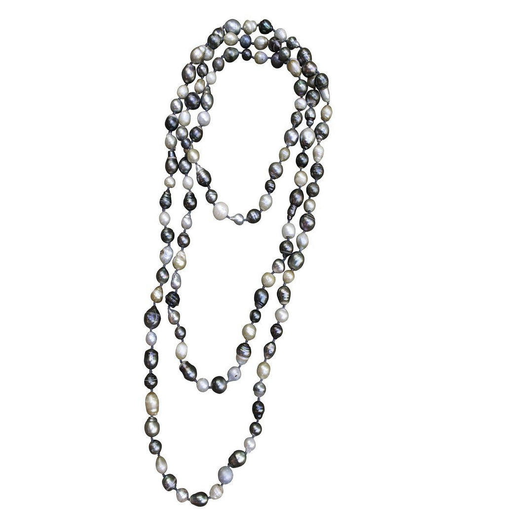 S. Carter Designs Tahitian Pearl Necklace