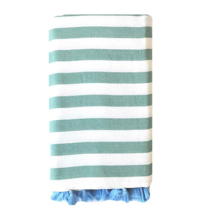 Turkish T Rugby Blanket in Teal