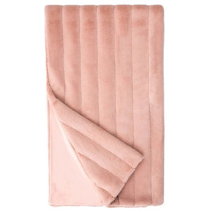 Mauve Mink Posh Throw
