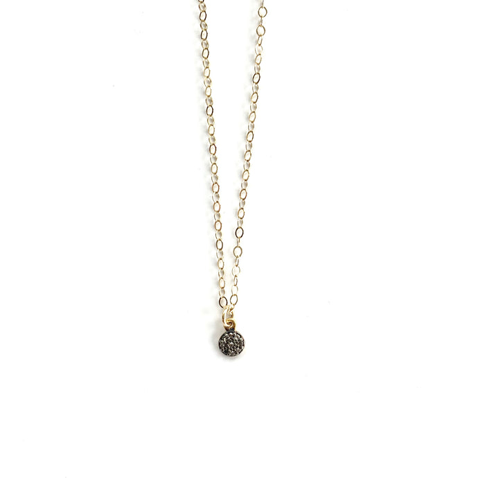 Erin Gray Design Tiny Pave Diamond Necklace