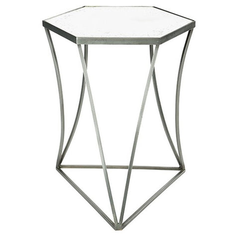 Triangulo Steel Side Table