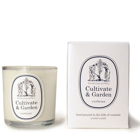 Farmhouse Pottery Cultivate and Garden Verbena Candle