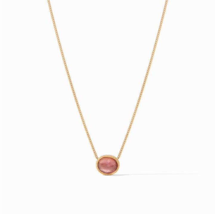 Julie Vos Verona Solitaire Necklace