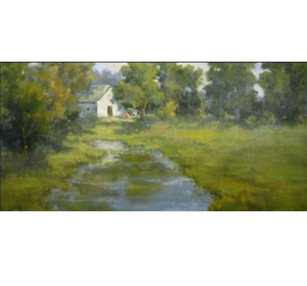 Bethanne Cople - White Barn, Cool River