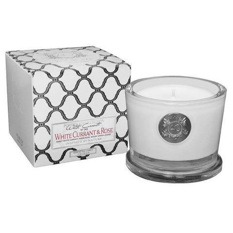 Aquiesse White Currant and Rose Candle