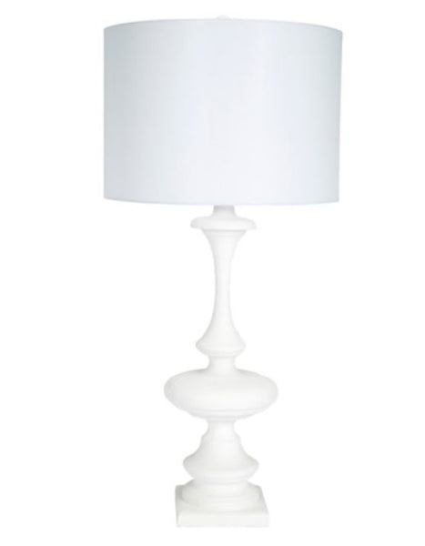 White Curves Lamp
