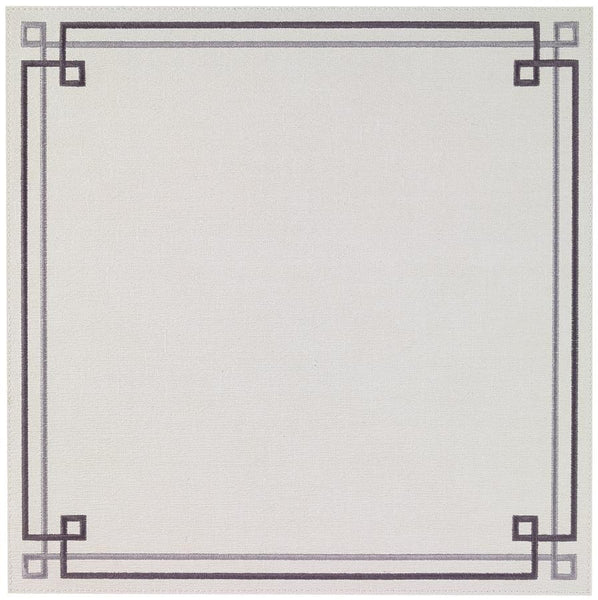 White and Gray Link Placemat