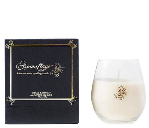 Aromaflage Wild Botanical Insect-Repelling Candle