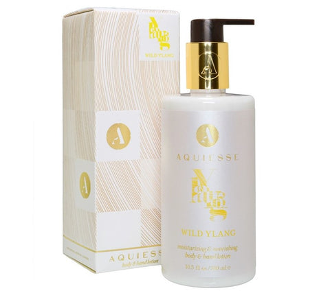 Aquiesse Wild Ylang Body and Hand Lotion