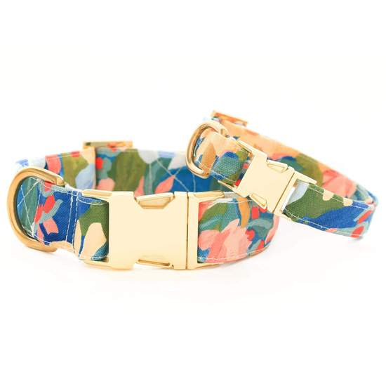 The Foggy Dog Wildflower Dog Collar