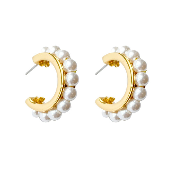 Mignonne Gavigan Wynnie Pearl Earrings