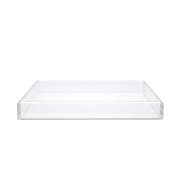 Extra Large Acrylic Tray in White