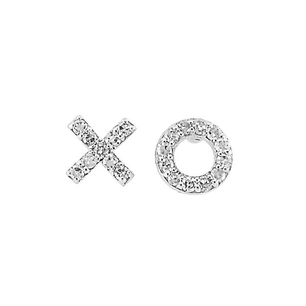 La Soula XO Diamond Earrings
