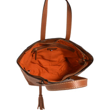 Load image into Gallery viewer, Loxwood Zippered Parisian Tote in Honey
