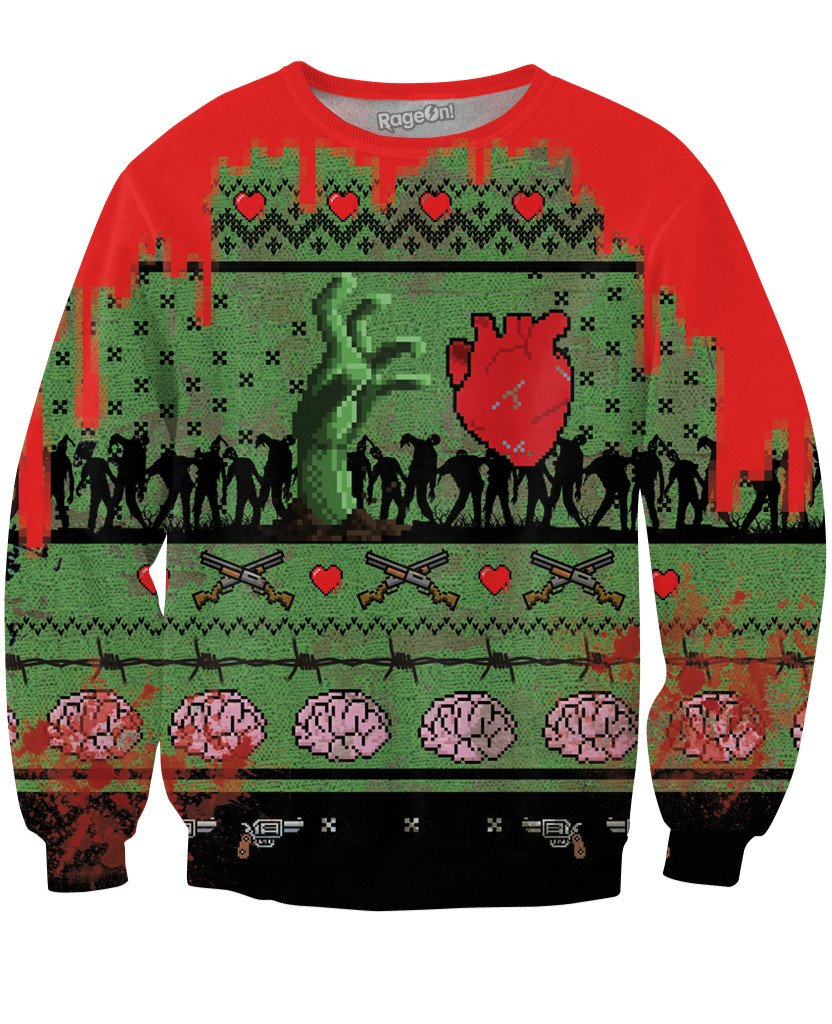 12 Ugly X-Mas Sweaters That Will Get All The HOs!